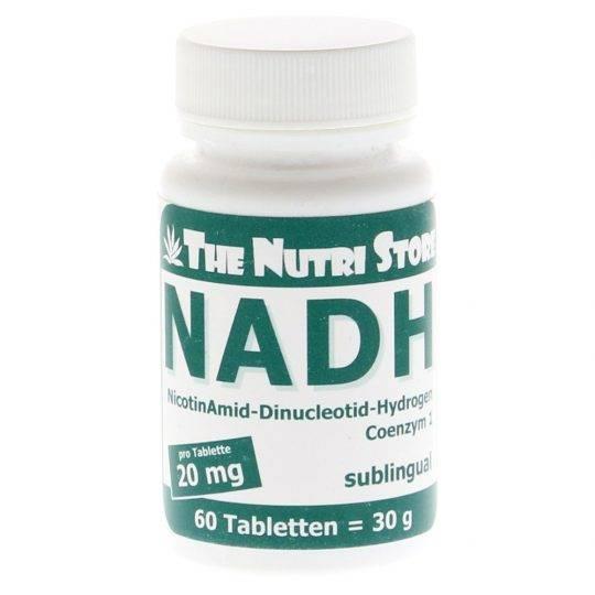 NADH 20 mg.,60 buc