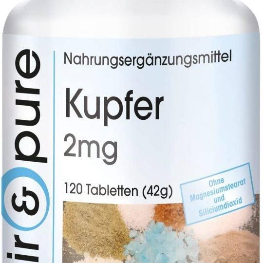 Tablete de cupru 2mg 90buc