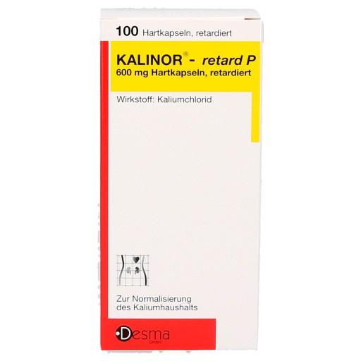Kalinor Retard P 600 mg- capsule 100buc