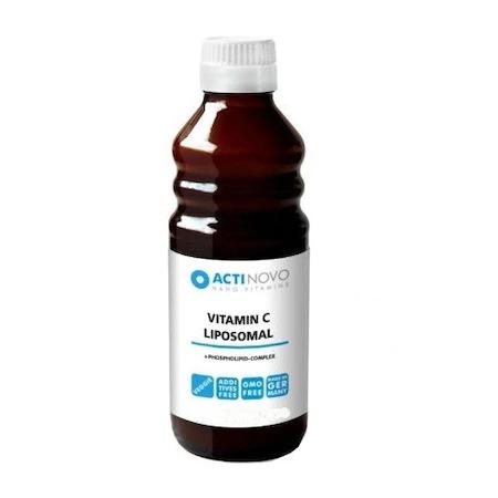 Liposomal vitamina c + zinc
