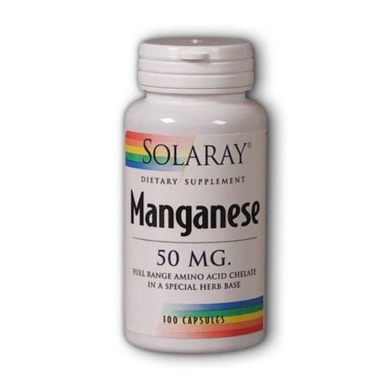 Mangan 50 mg. 100 capsule