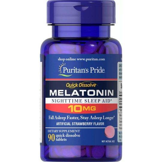Melatonin 10mg 90 buc