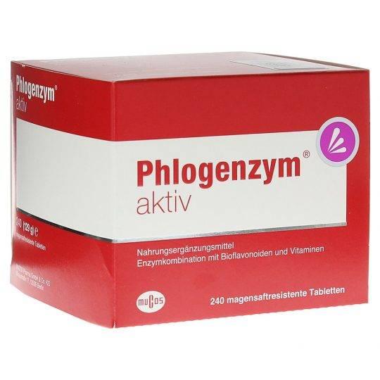 Phlogenzym Activ 240buc
