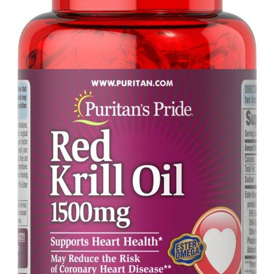 Red Krill Oil 30buc (1500mg)