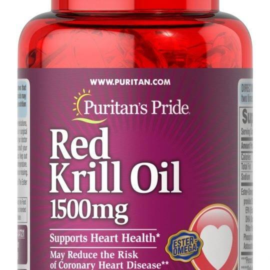 Red Krill Oil 30buc (1500mg)