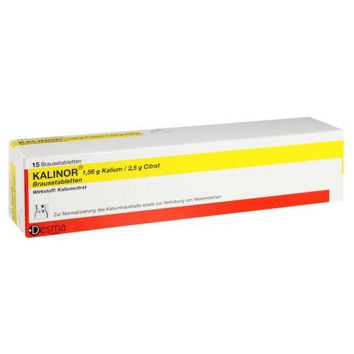 Tablete efervescente Kalinor 15 buc.