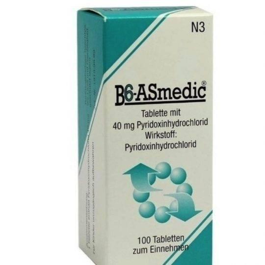 Vitamina B6 40 mg 100 buc
