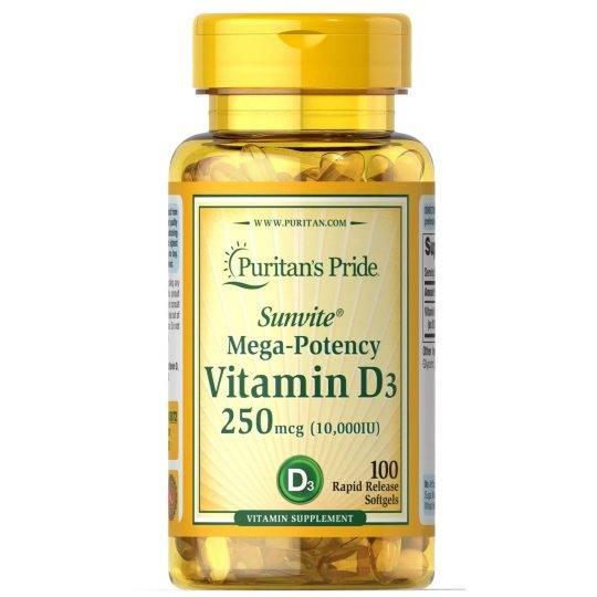 Vitamina D3 10.000 IU (60)