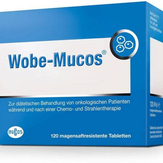 Wobemucos 120tablete