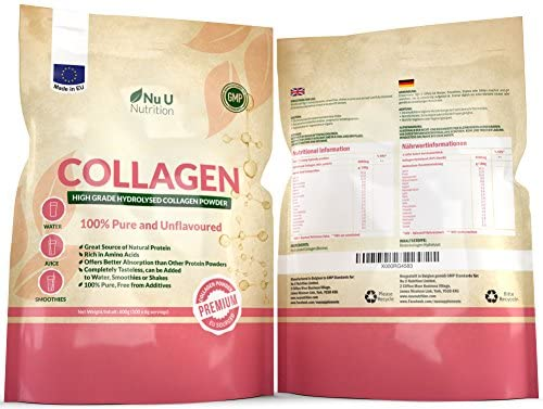 Collagen pudra