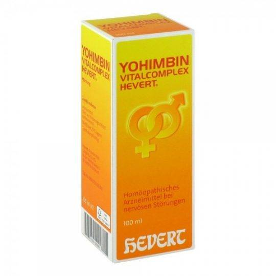Yohimbin Vitalcomplex 100 ml.