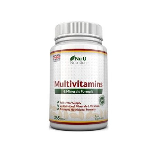 Multiviamine si minerale Nu U Nutrition